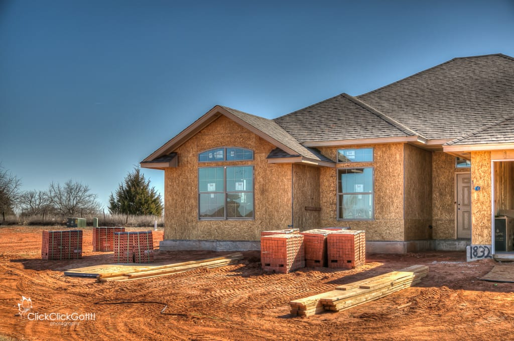 new homes in hunters hill mustang ok