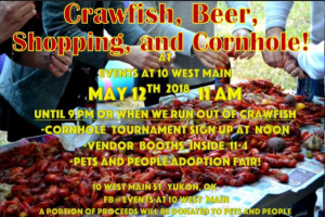 GO LOCAL - Crawfish Crawl on MAIN ST in YUKON