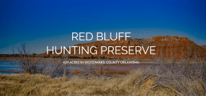 Red Bluff Hunting Preserve - hunting land for sale in Oklahoma