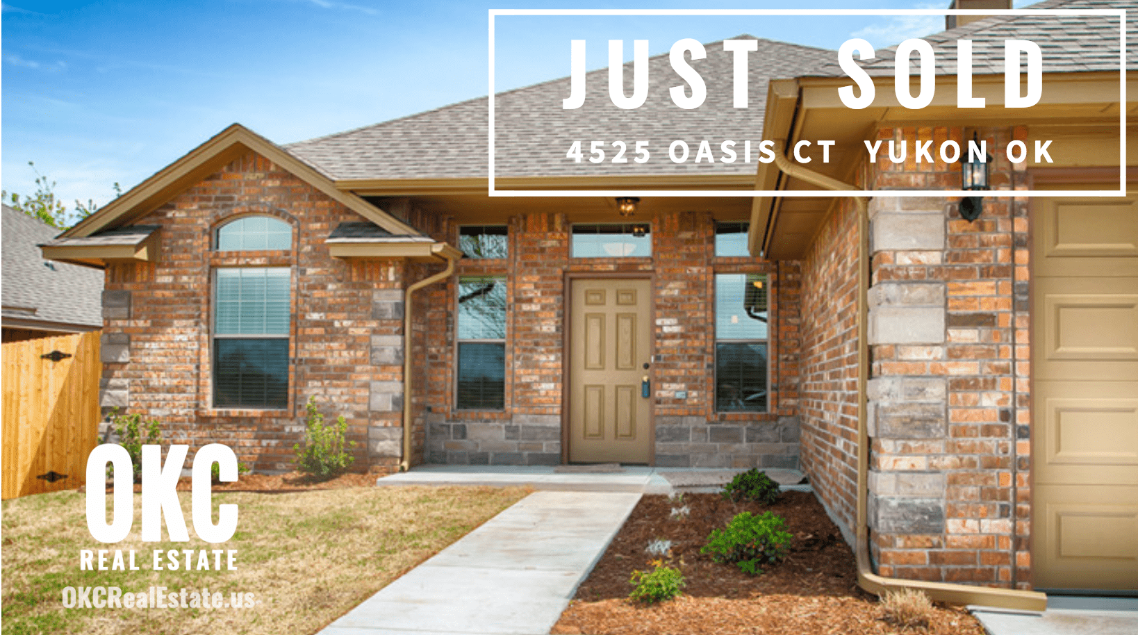 JUST SOLD-4525 OASIS COURT NEW HOME IN YUKON