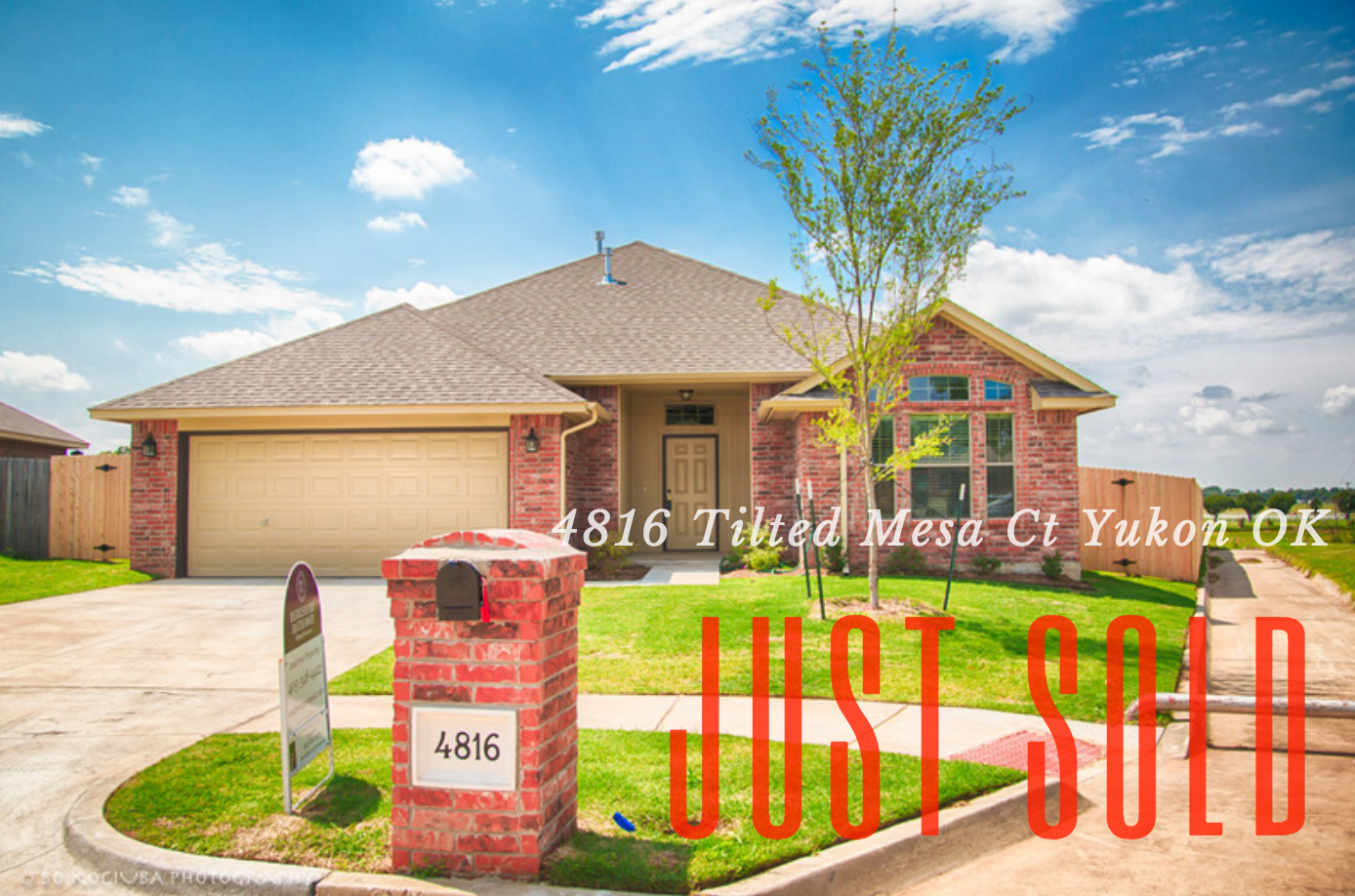 JUST SOLD-4816 Tilted Mesa Dr NEW HOME IN YUKON OK