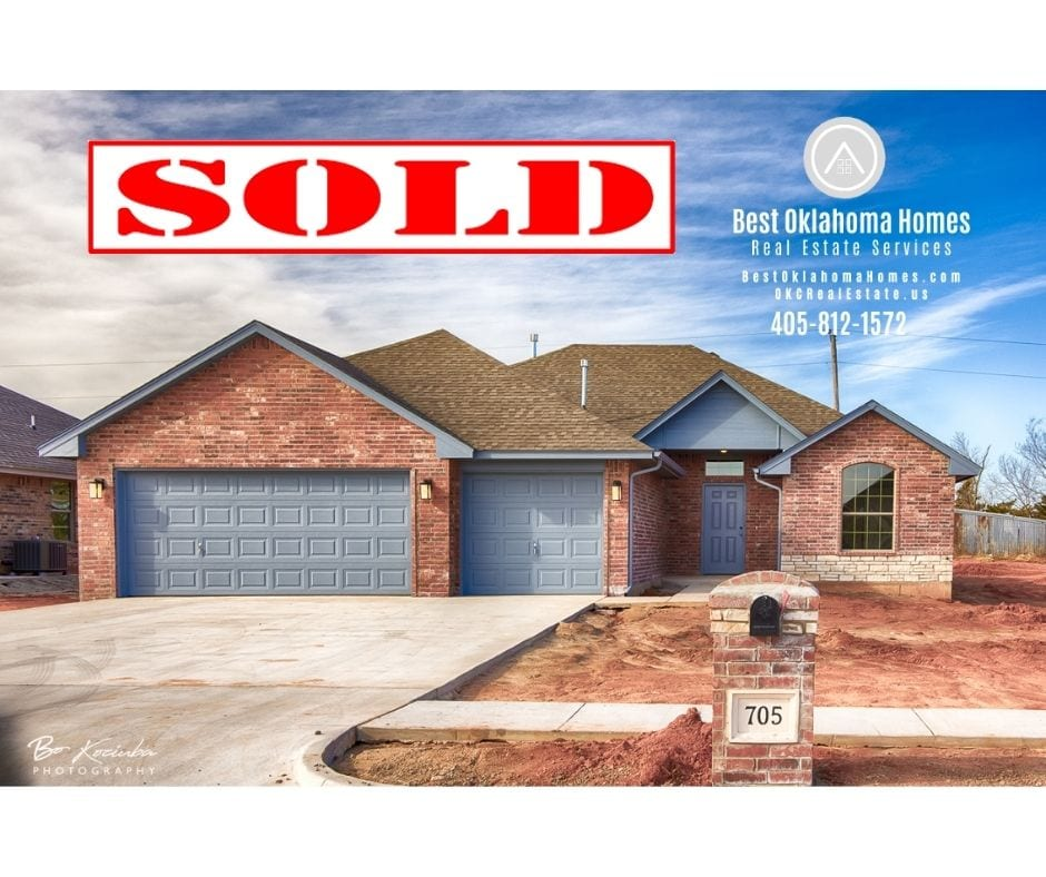 new homes for sale in Hunters Hill Mustang OK